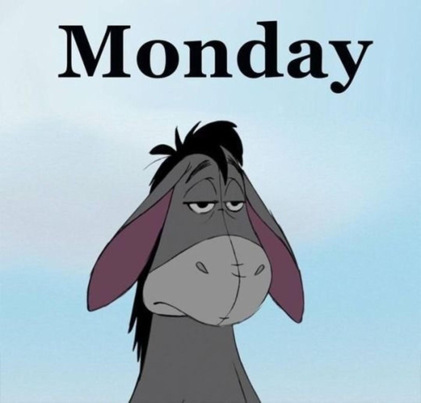Buon Lunedì in inglese