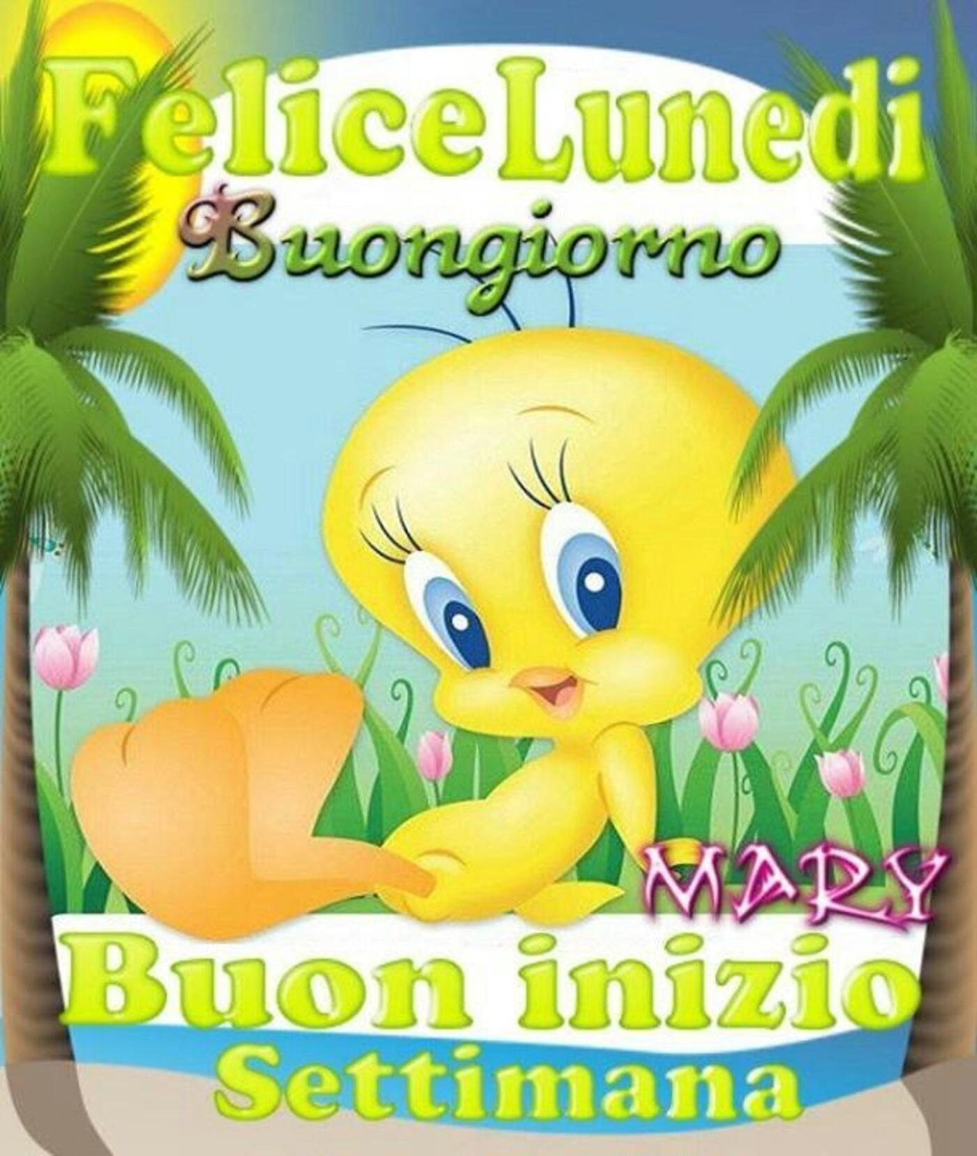 Felice Lunedì Buongiorno Buon Inizio Settimana