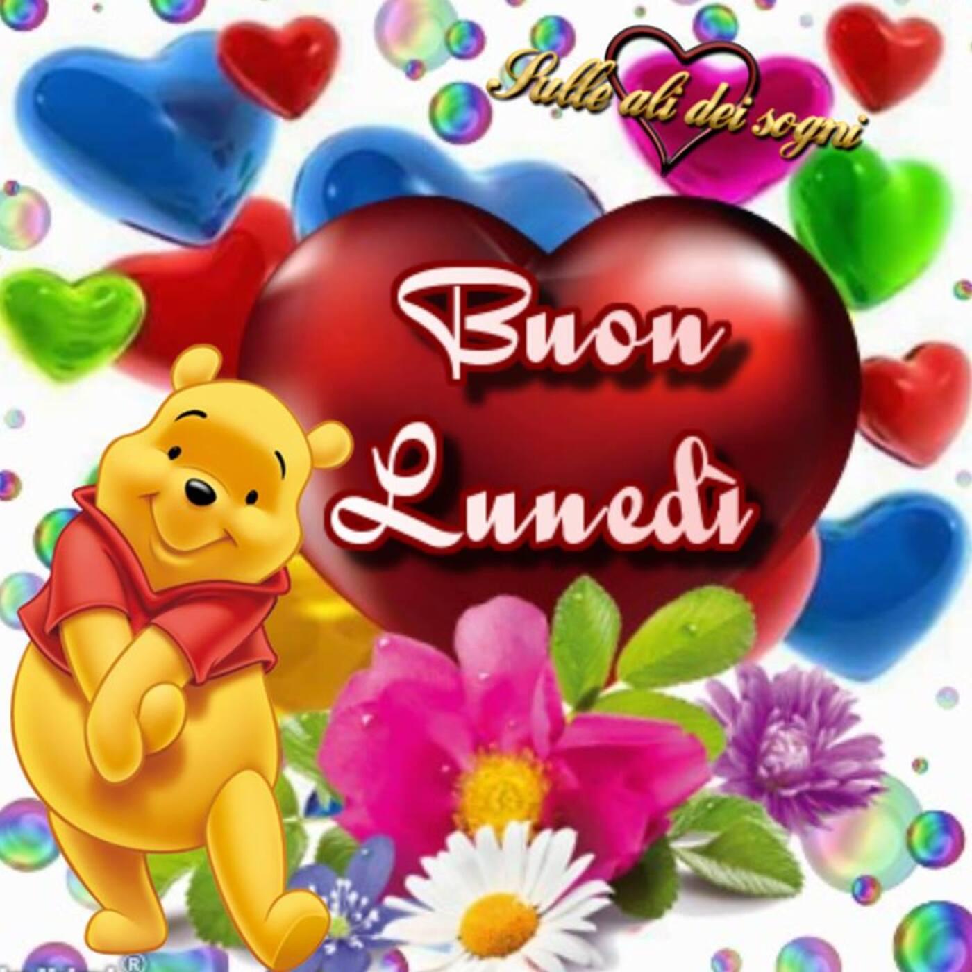 Winnie The Pooh Buon Lunedì