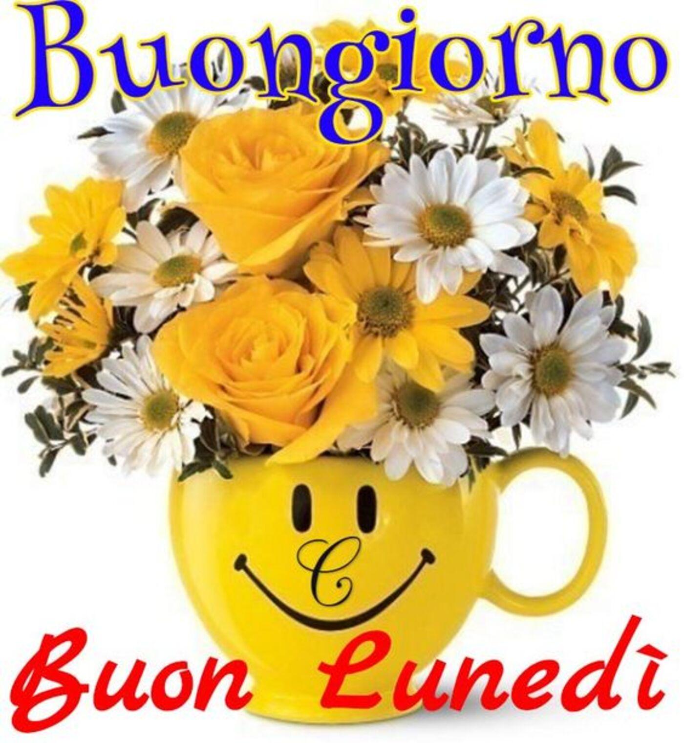 Buongiorno Buon Lunedì coi fiori