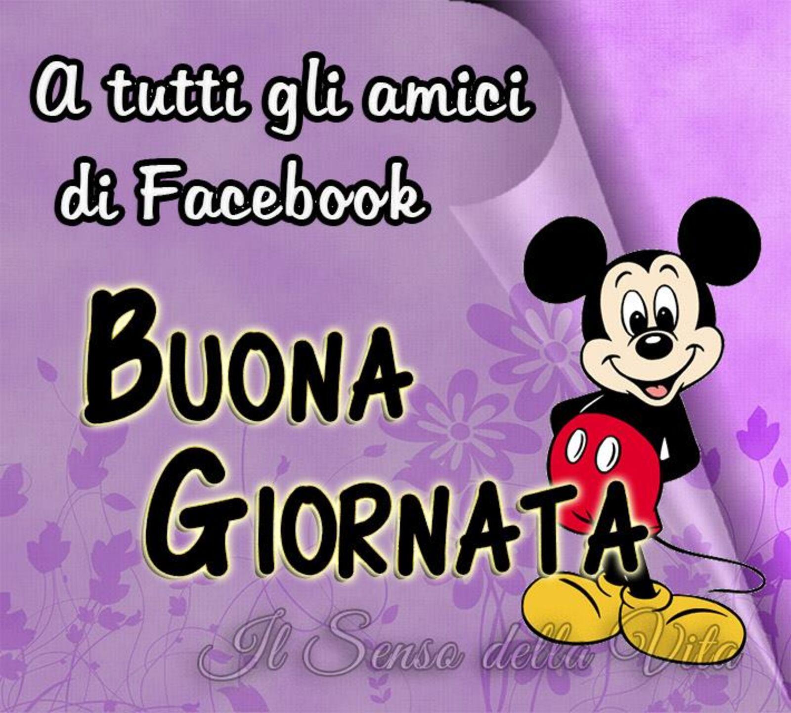 A tutti gli amici di Facebook Buona Giornata