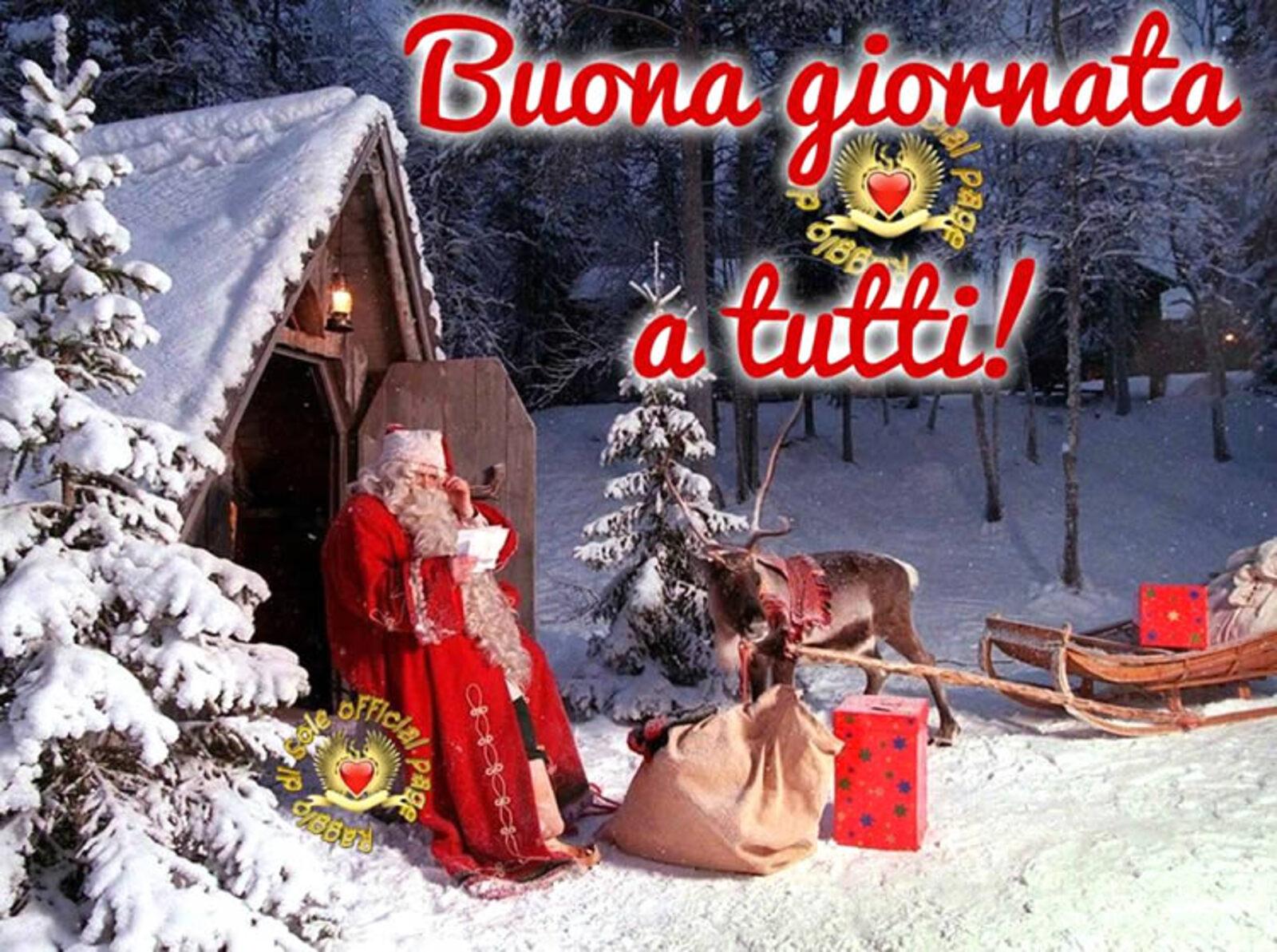 Buona Giornata a tutti! immagini natalizie