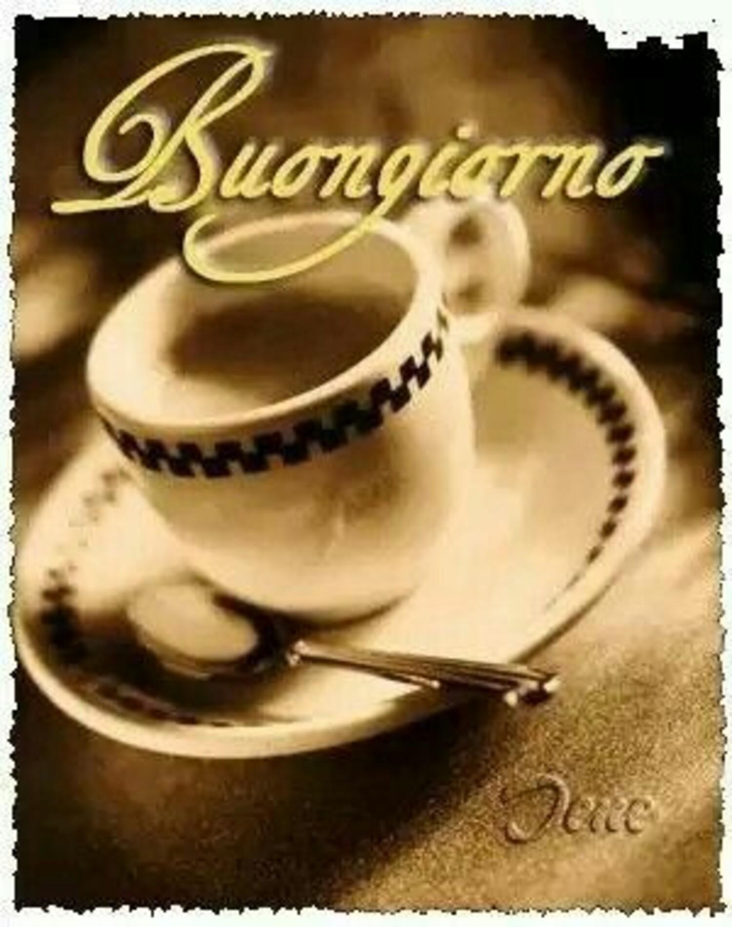 Buongiorno caffè ?