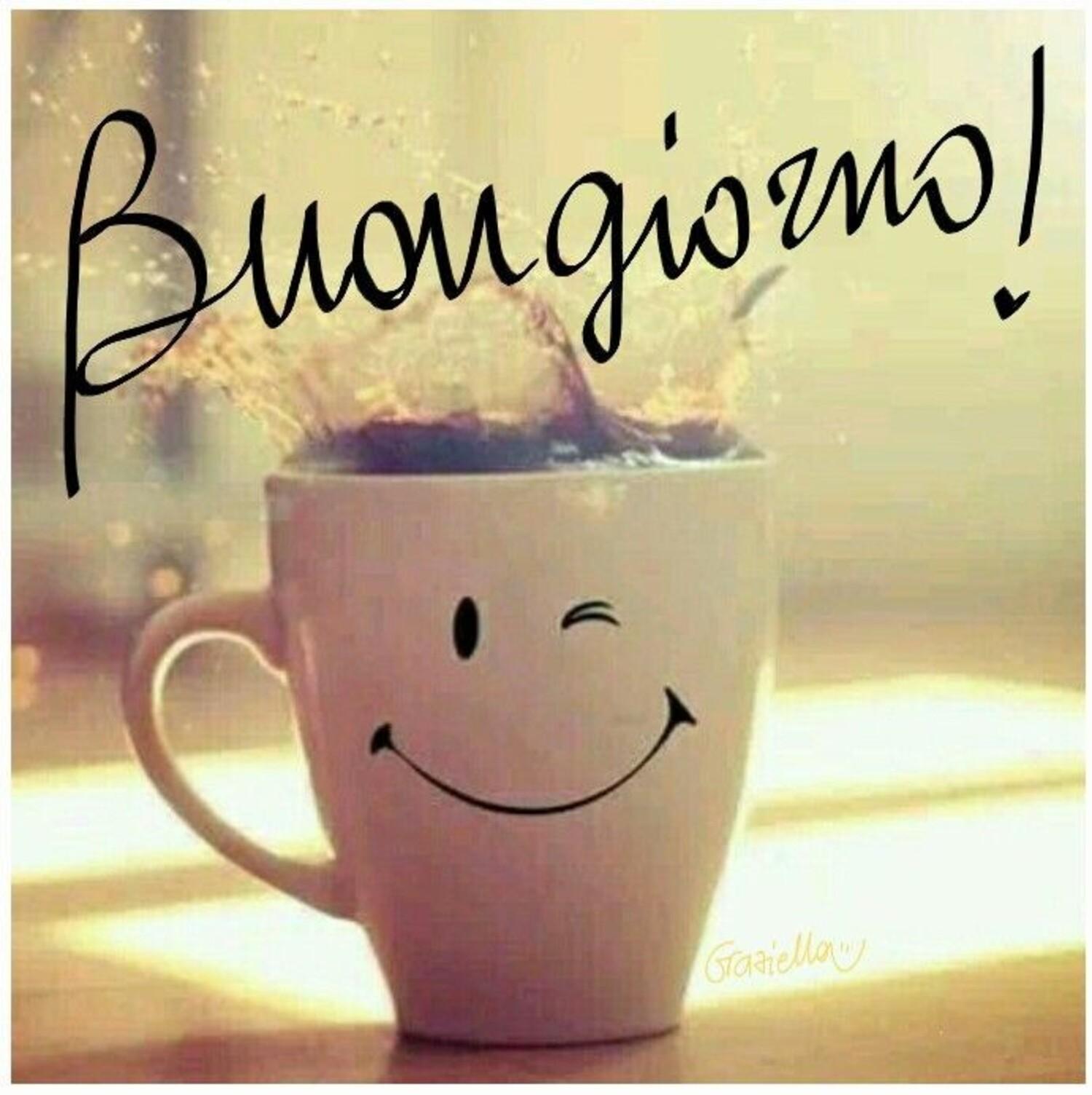 Buongiorno! Col sorriso
