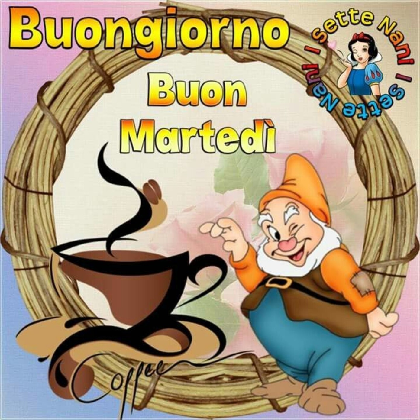 Buongiorno Buon Martedì, caffè?