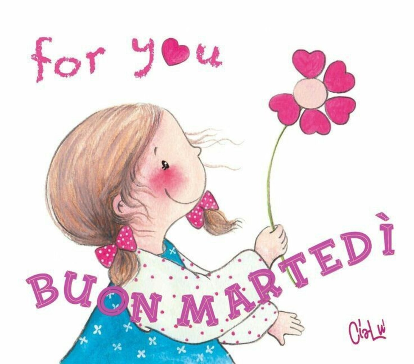 For You, Buon Martedì