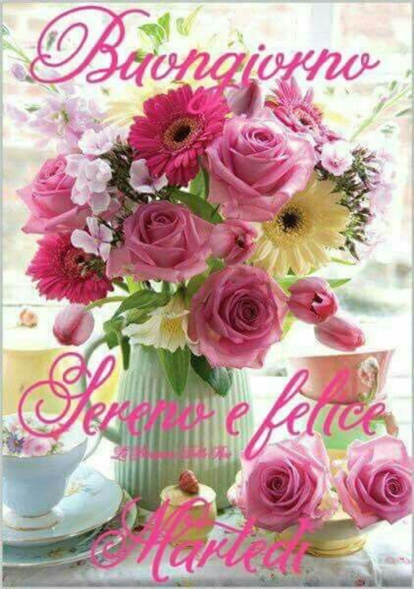 Buongiorno Sereno e Felice Martedì