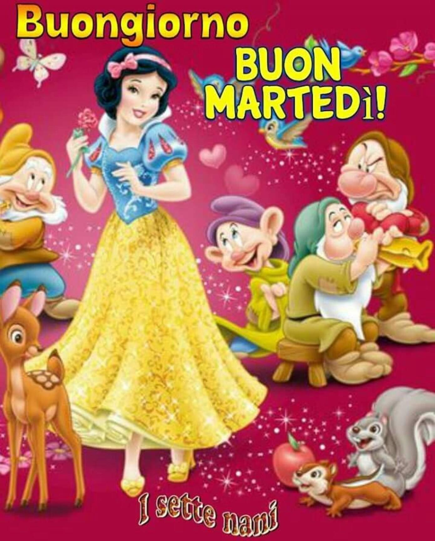 Buongiorno BUON MARTEDI'  Disney