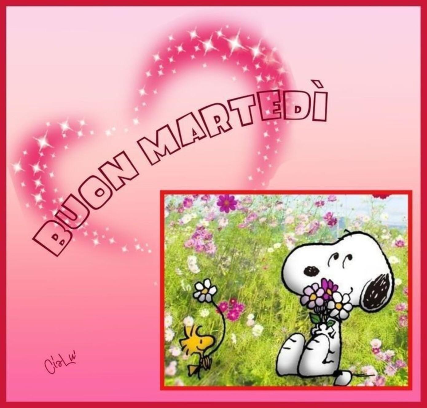 Buon Martedì Snoopy