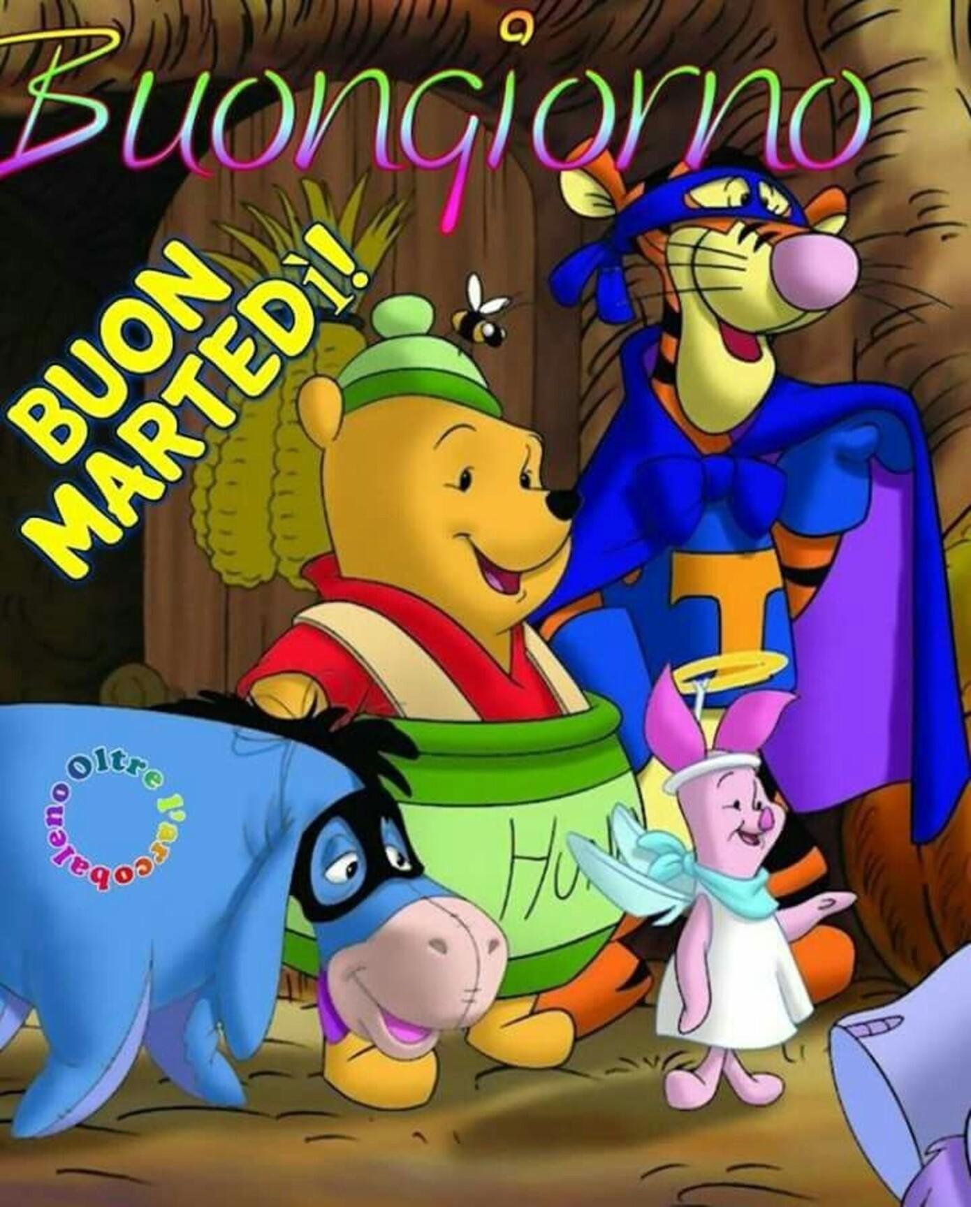 Winnie The Pooh Buongiorno Buon Martedì