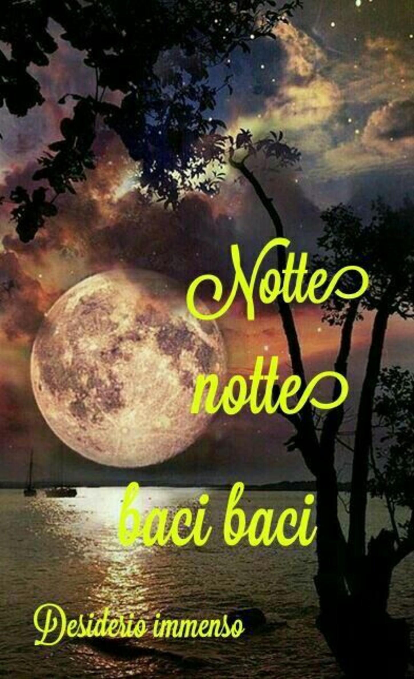 Notte notte baci baci
