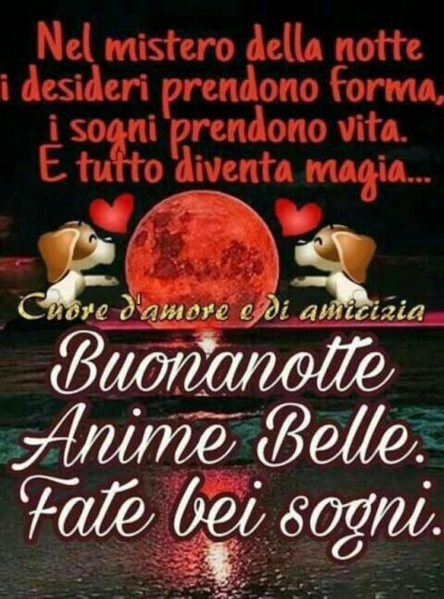 """""""... Buonanotte anime belle, fate bei sogni"""""""
