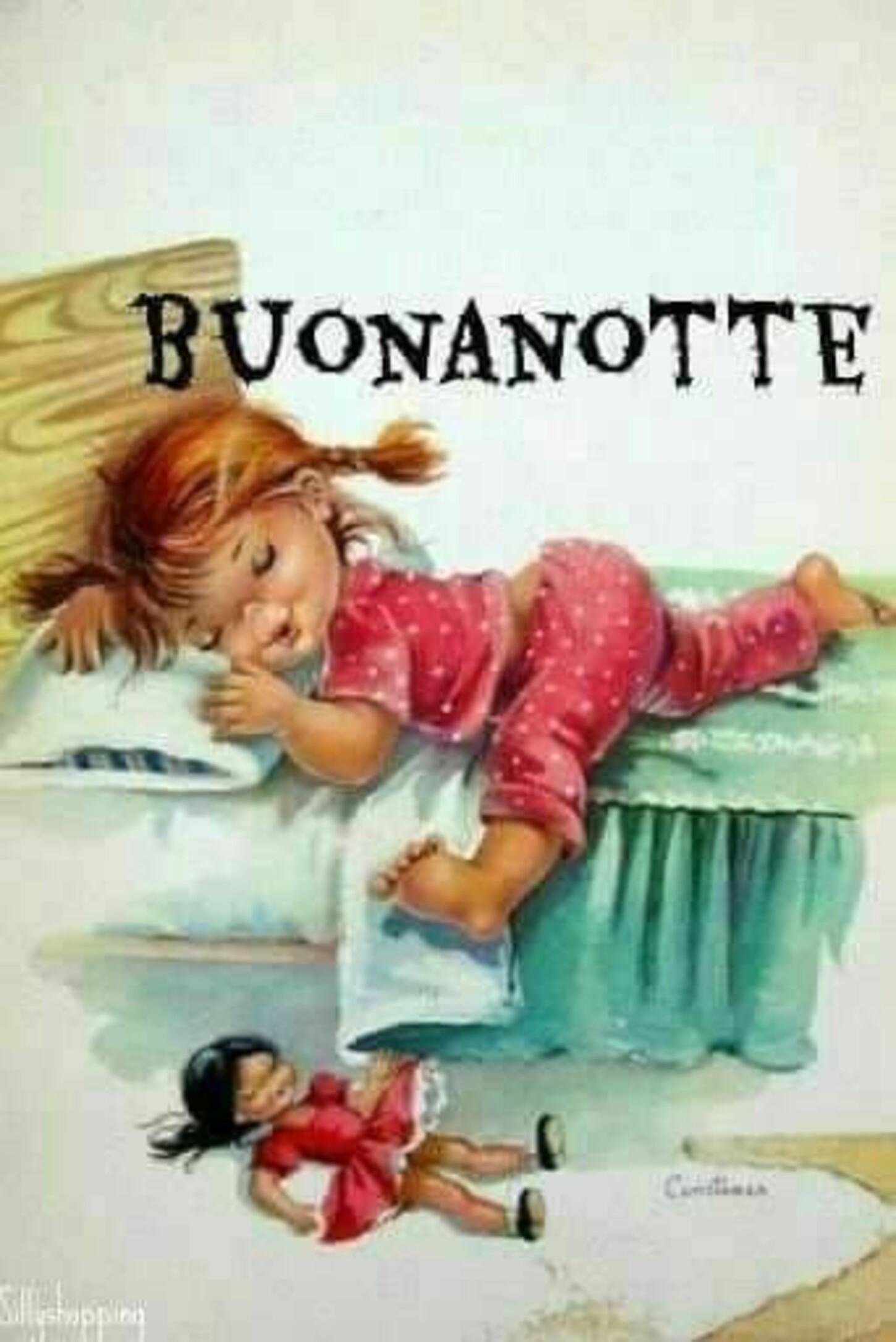 Buonanotte immagini coi bambini