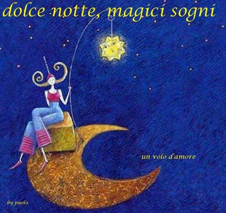 dolce notte, magici sogni