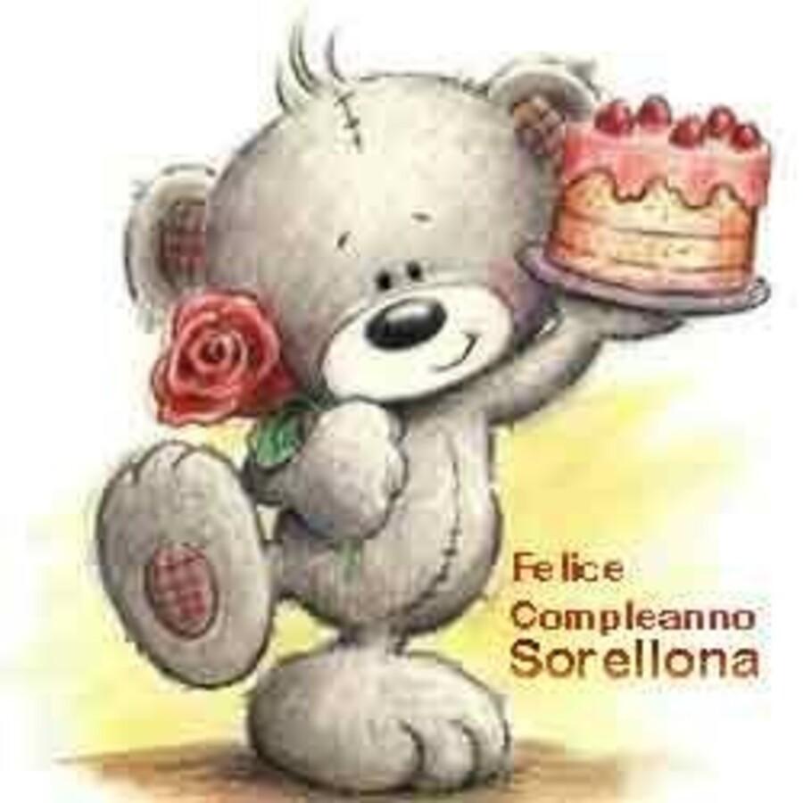 Felice Compleanno Sorellona