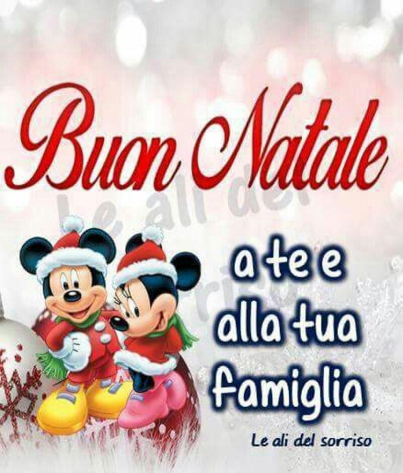 Buon Natale a te e alla tua famiglia