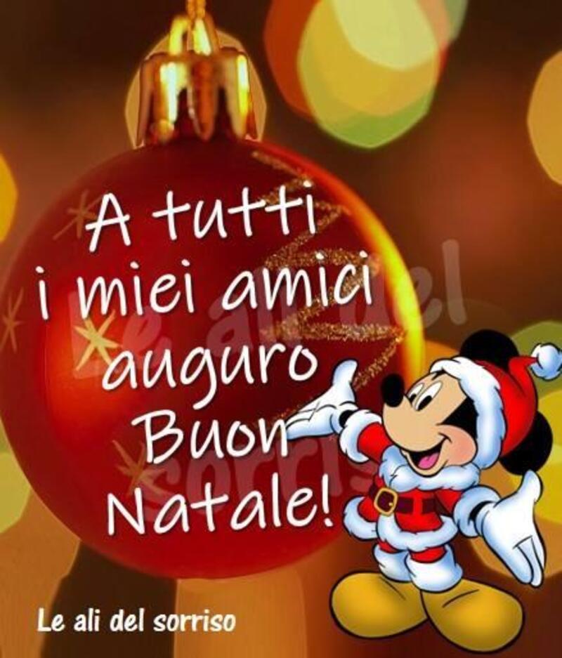A tutti i miei amici auguro Buon Natale