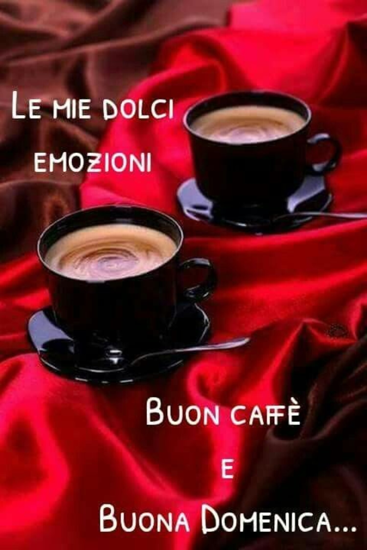 Buon Caffè e Buona Domenica