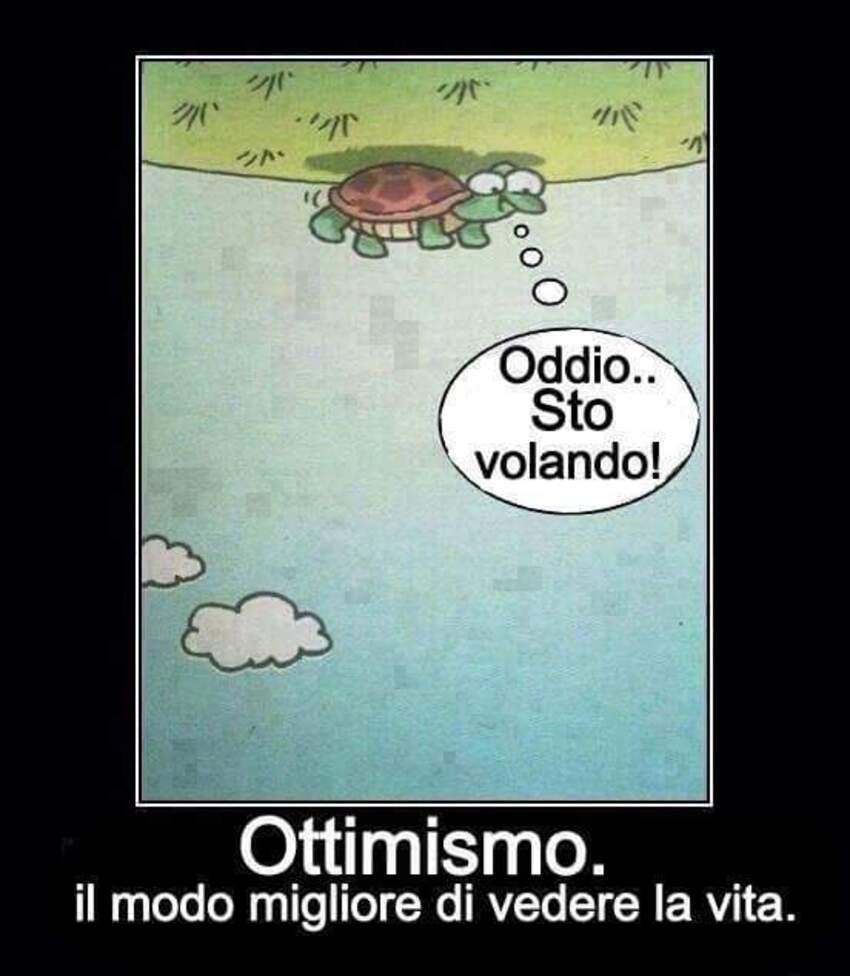 Ottimismo. Il modo migliore di vedere la vita.