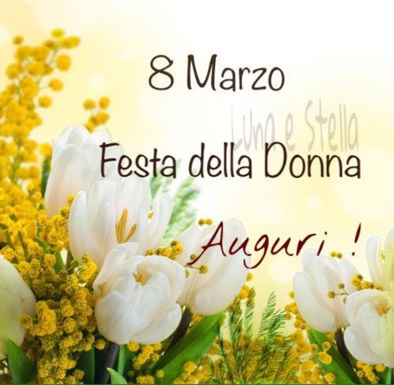 8 Marzo festa della donna Auguri!