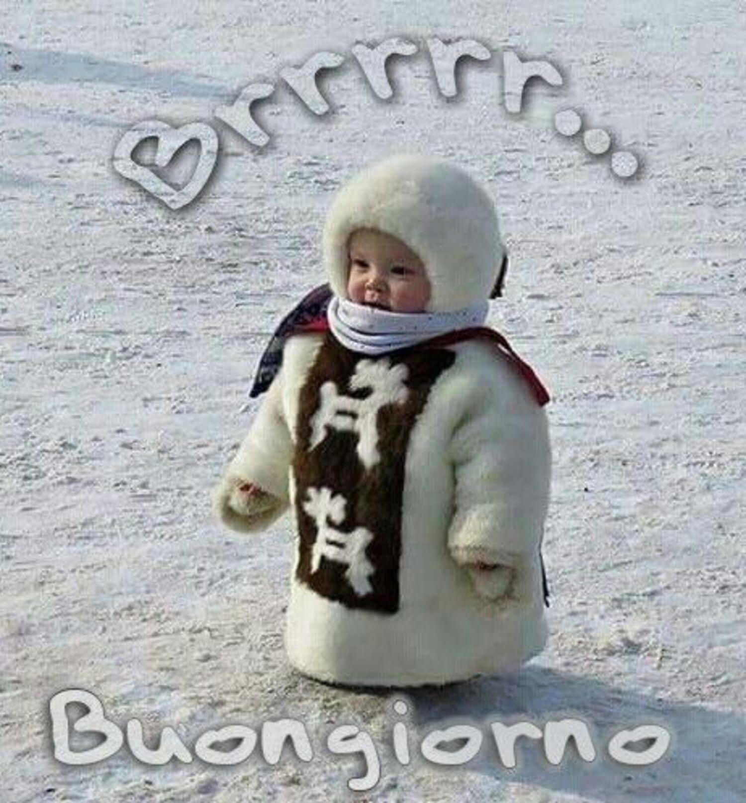 Brrrr...Buongiorno