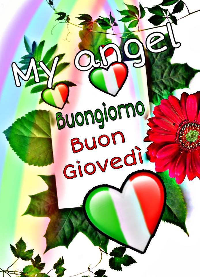 Buon Giorno e Buon Giovedì Italia