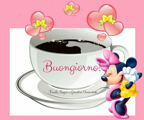 Buon Giorno da Minnie Mouse