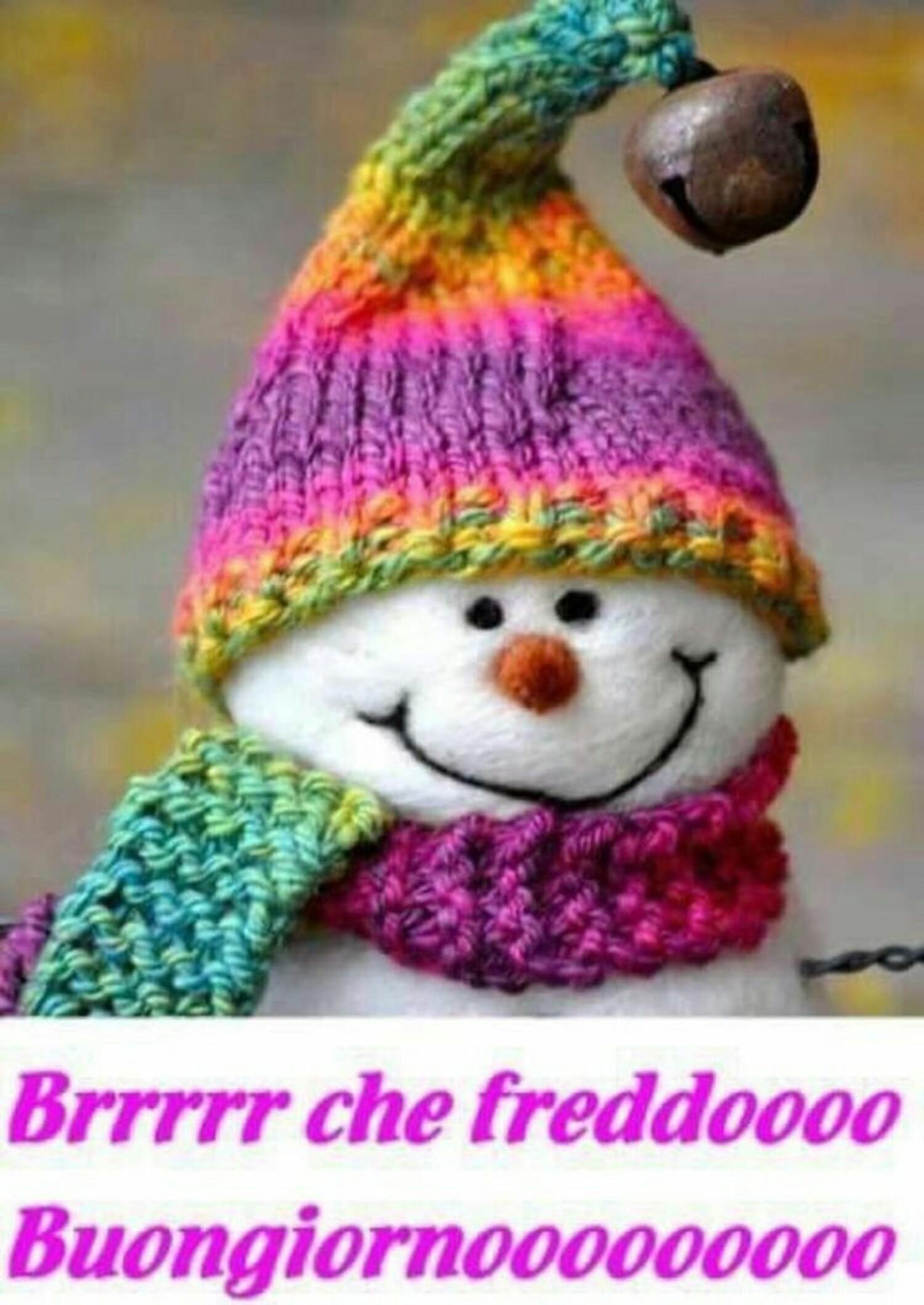 Brrr che freddo... Buongiornooo