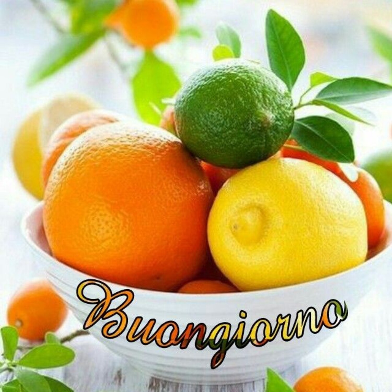 Buongiorno con la frutta