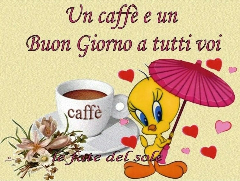 Un caffè e un Buon Giorno a tutti voi...