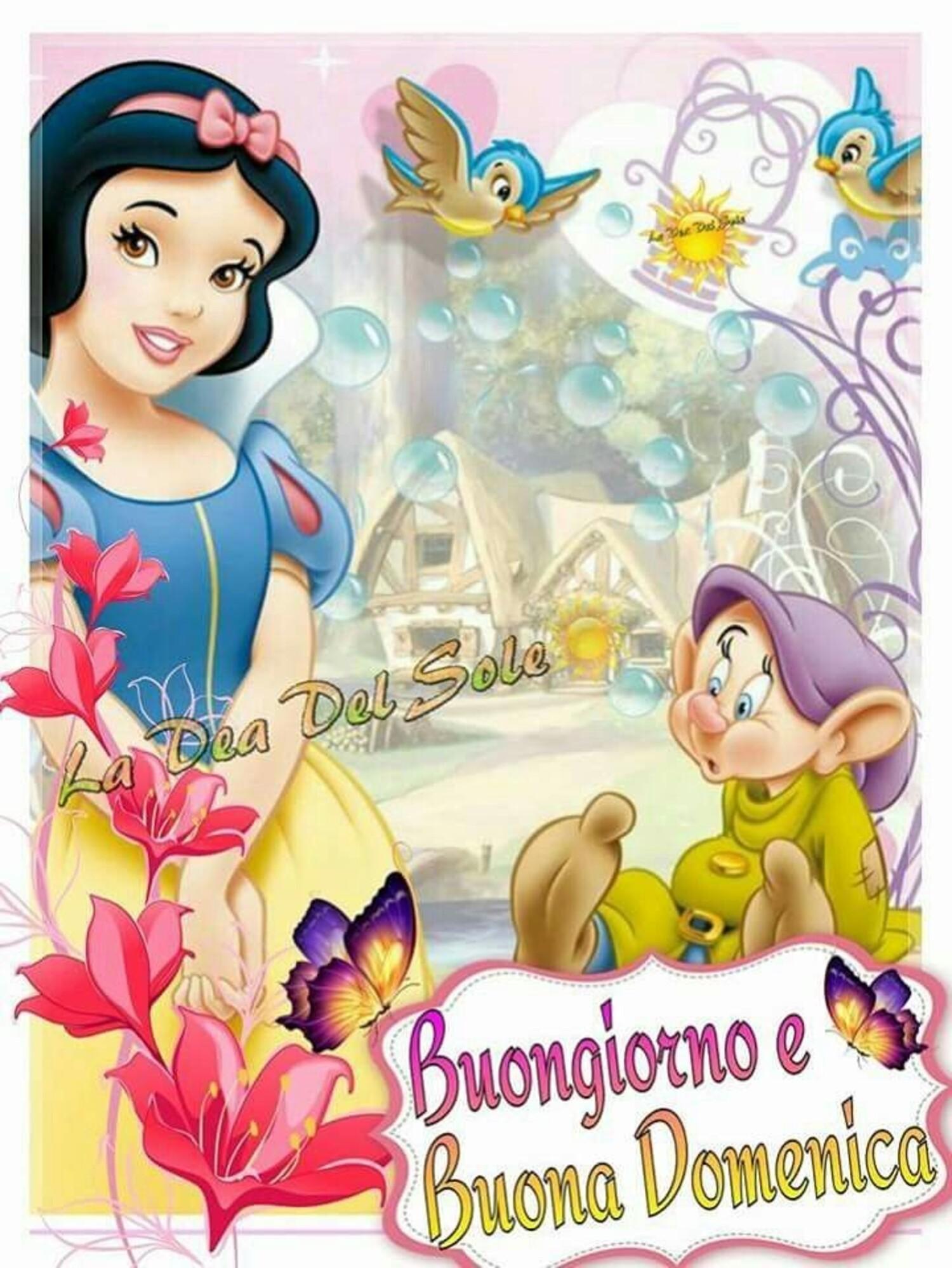 """""""Buongiorno e Buona Domenica"""" - immagini Walt Disney"""