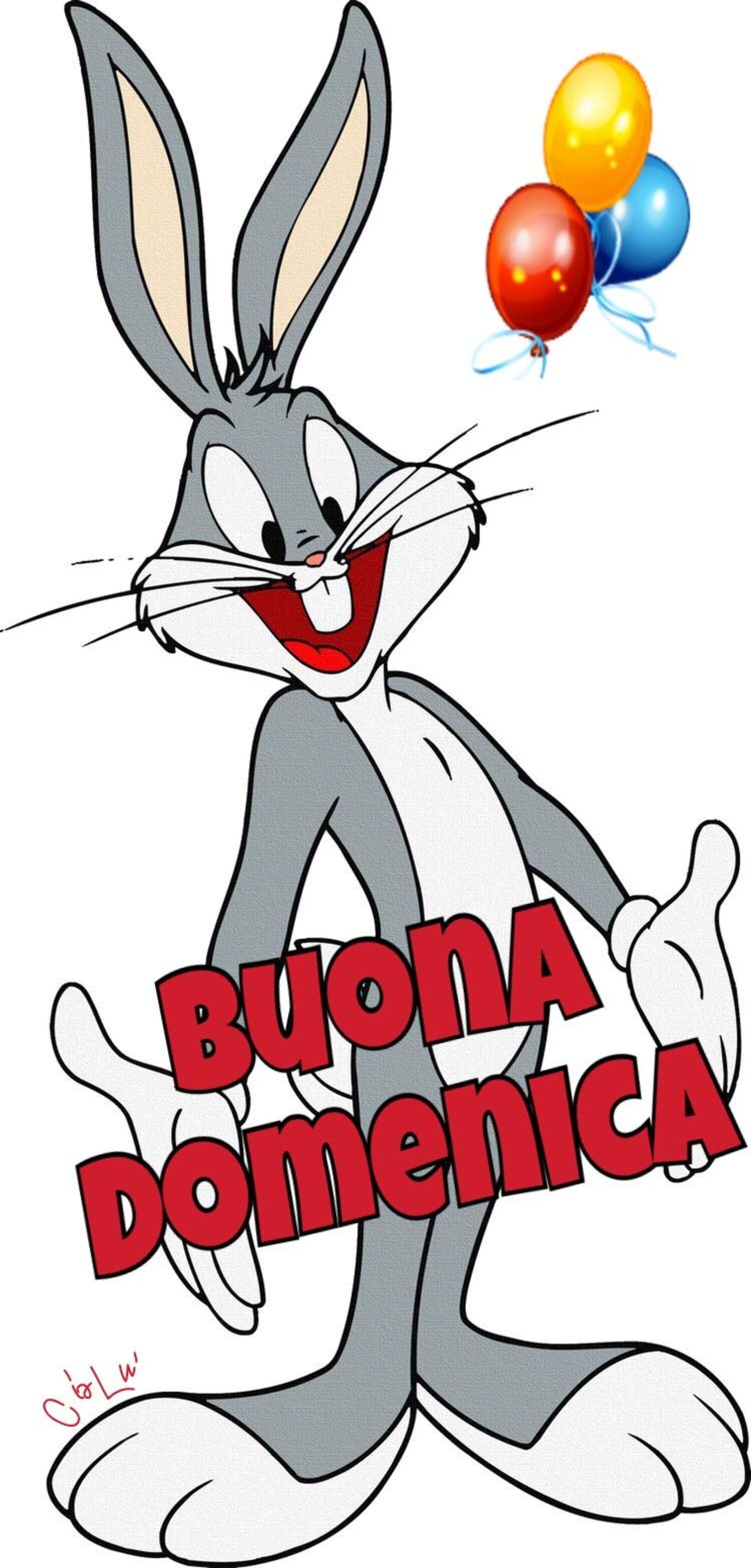 Buona Domenica Bugs Bunny