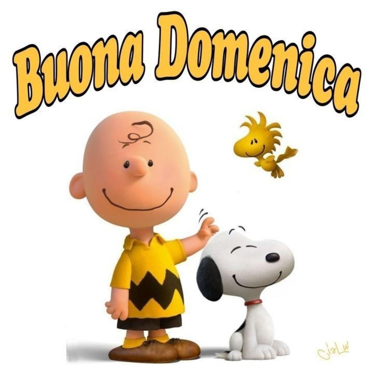 Buona Domenica da Snoopy e Charlie Brown