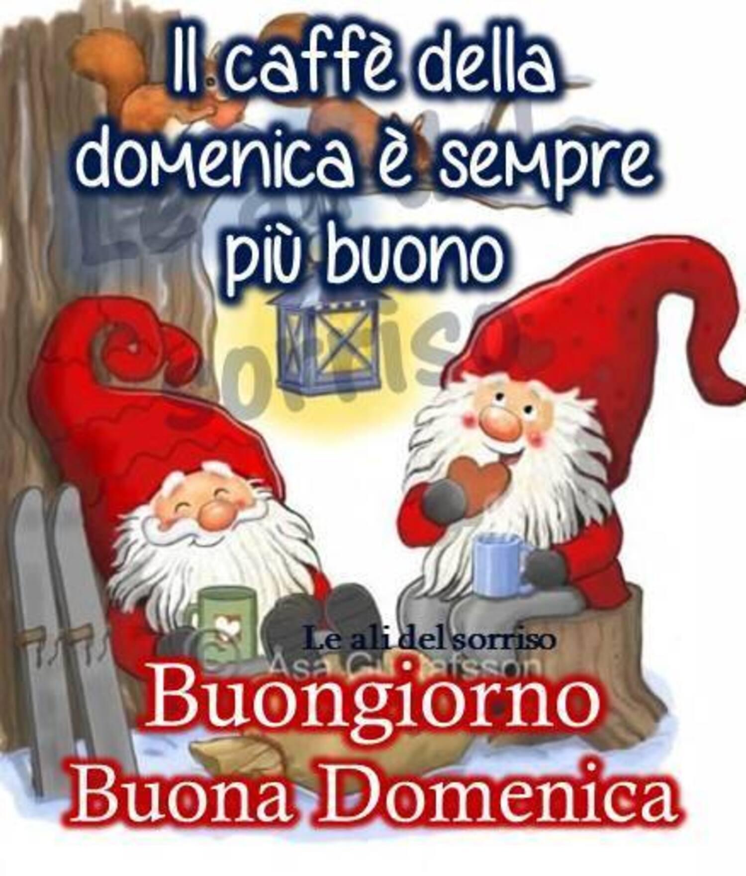 Buon Giorno e Buona Domenica immagini natalizie