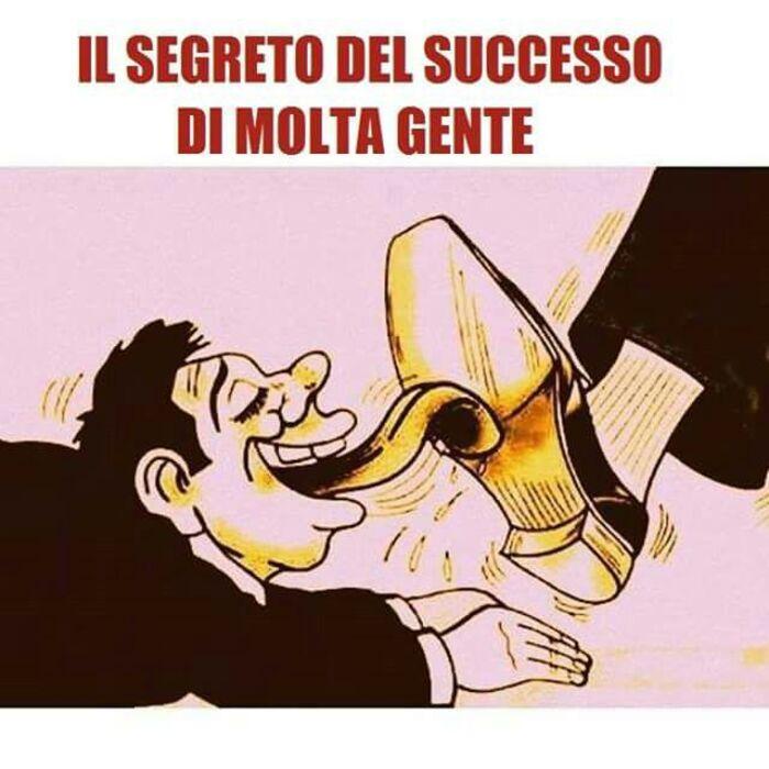 """""""Il segreto del successo di molta gente"""" - Frasi cattive"""