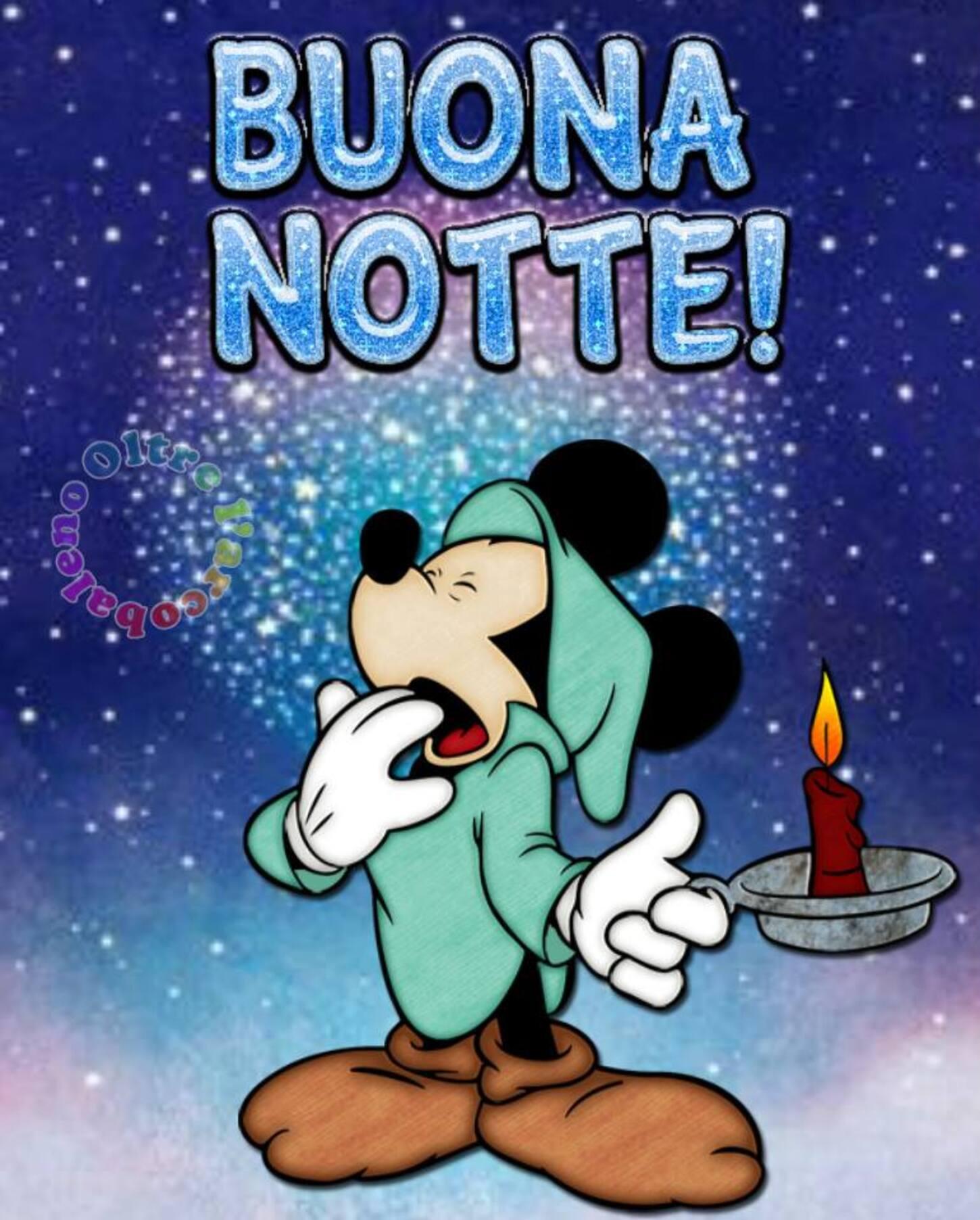 BUONA NOTTE! da Topolino - immagini Disney