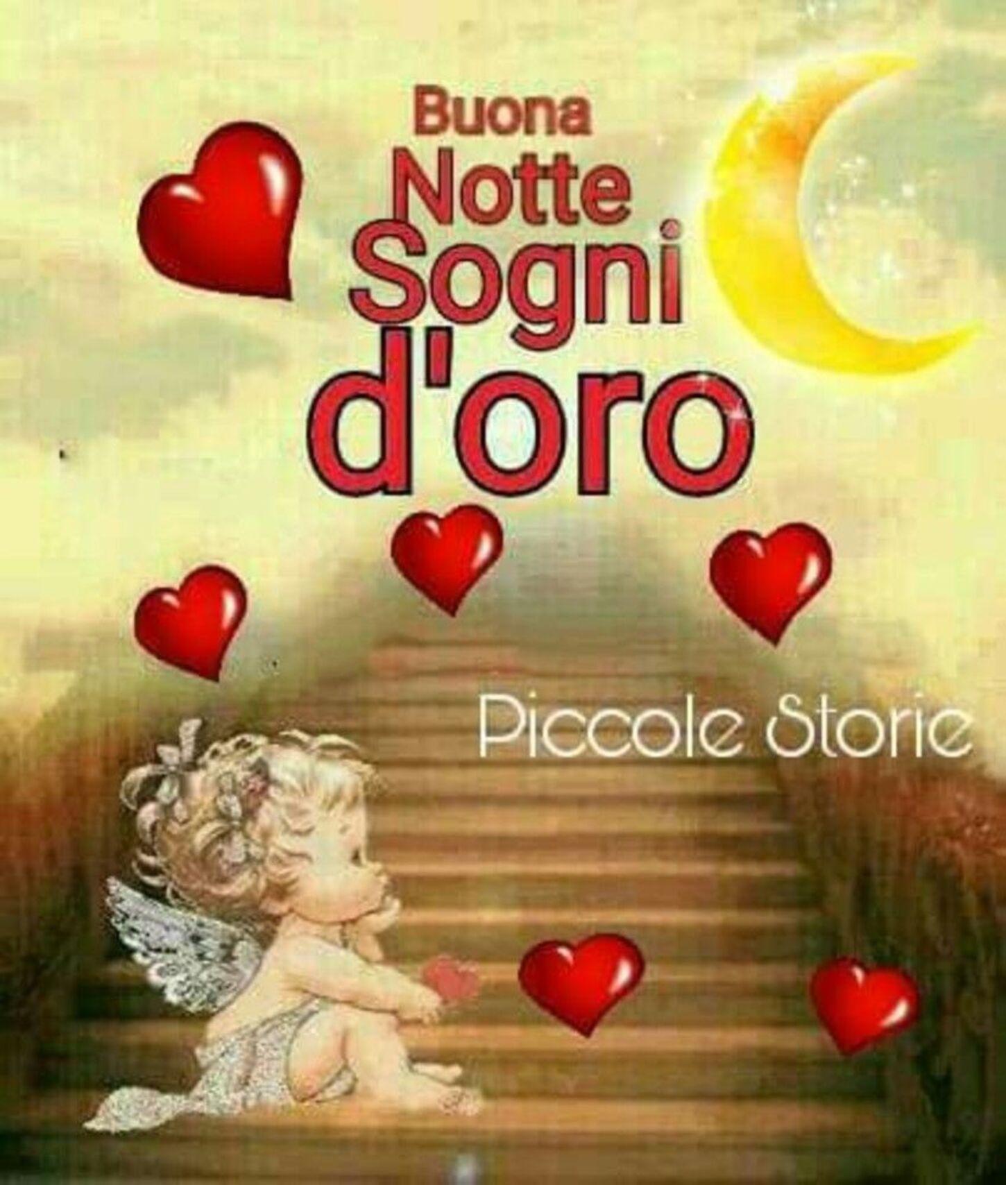 Buona Notte, Sogni d'Oro angioletto