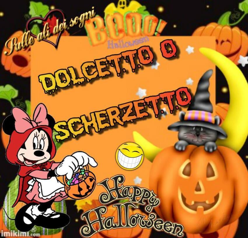 Dolcetto o Scherzetto? Buon Halloween - Disney
