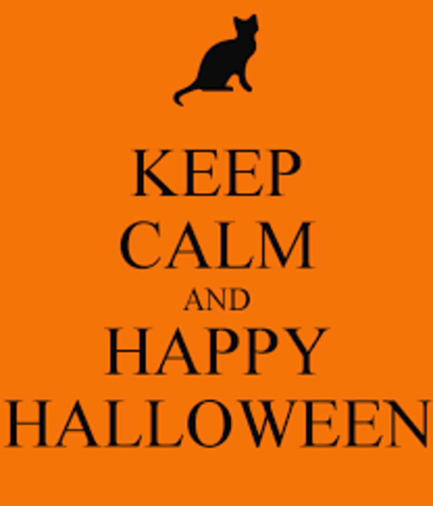 Keep Calm and Happy Halloween
