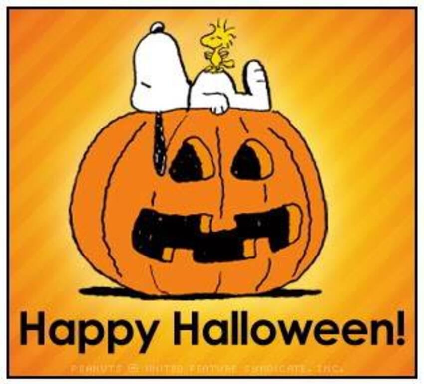 Snoopy Buon Halloween