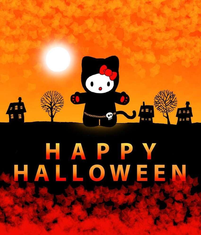 Buon Halloween da Hello Kitty