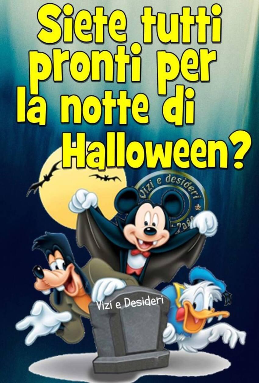 Siete tutti pronti per la Notte di Halloween?