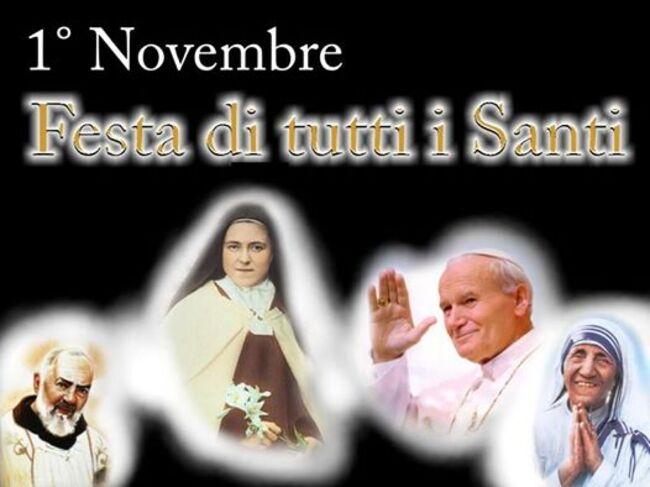 1° Novembre Festa di Tutti i Santi