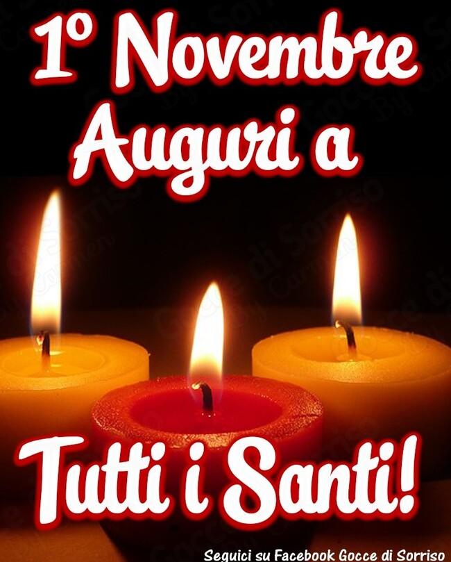 .....Auguri a Tutti i Santi