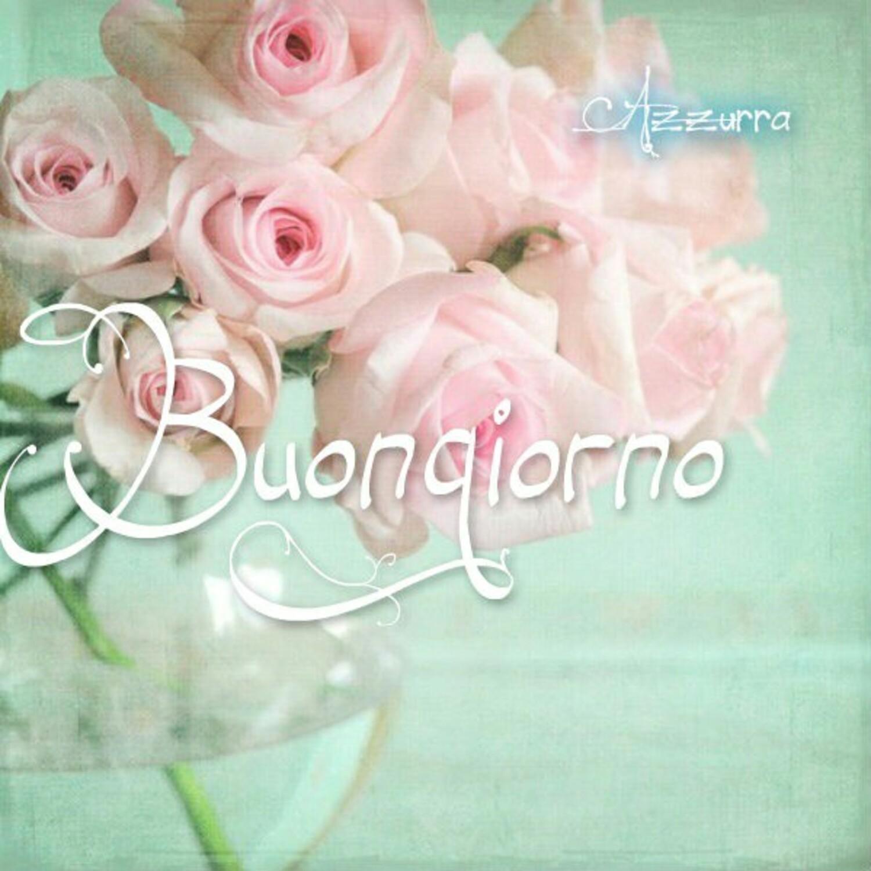 Buongiorno con le rose