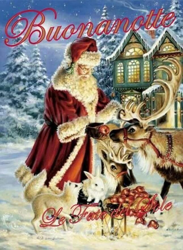 Buonanotte da Babbo Natale - bellissime immagini
