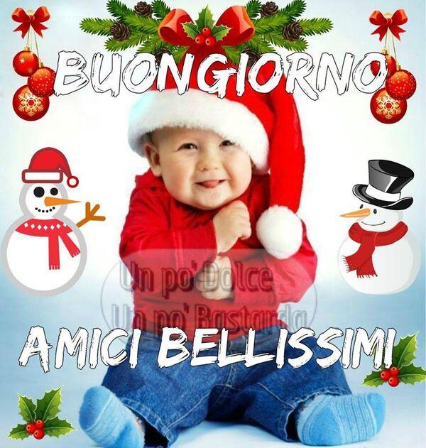 """""""Buongiorno amici bellissimi"""" - Buongiorno natalizio"""