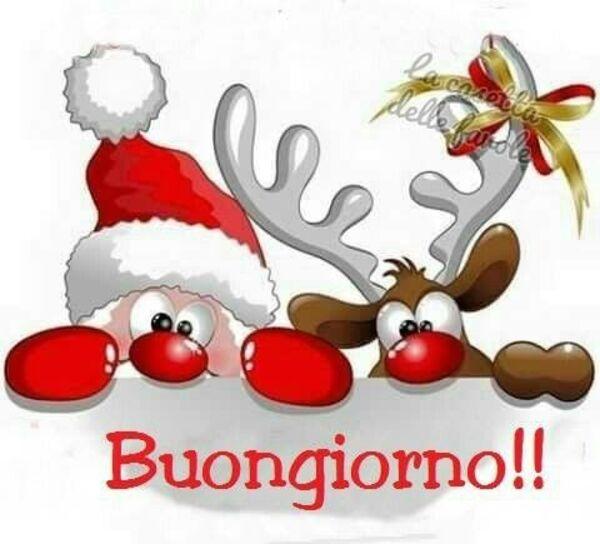 Buongiorno! da Babbo Natale e la sua renna