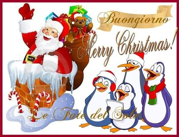 Buongiorno Merry Christmas