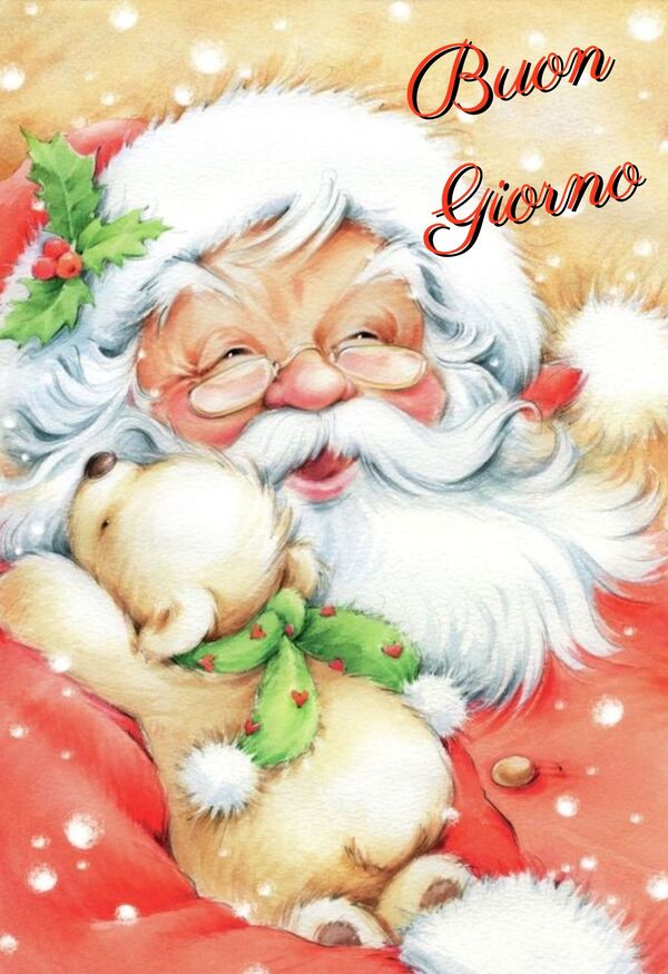 Buon Giorno Babbo Natale